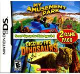Nintendo My Amusement Park and Digging for Dinosaurs Game Pack DS