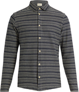 Oliver Spencer Striped cotton-jersey shirt