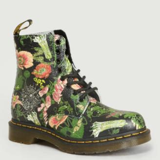 Dr. Martens Multi Backhand 1460 Pascal Wild Botanic Boots - 37   leather   Multicolor
