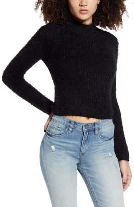 Love by Design Mock Neck Crop Sweater