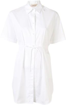 PortsPURE Tie-Waist Short Sleeve Shirt