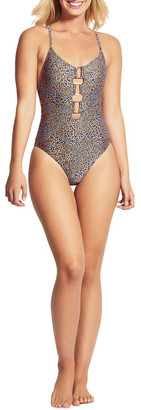 Seafolly Spirit Animal Ring Front One Piece