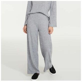 Joe Fresh Women's Rib Jersey Pants, Light Grey Mix (Size XS)