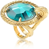 Just Cavalli Just Queen Crystal Golden Ring