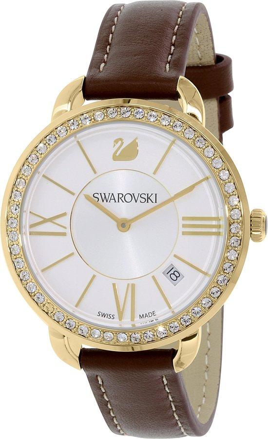 Swarovski Women's 5095940 Leather Swiss Quartz Watch
