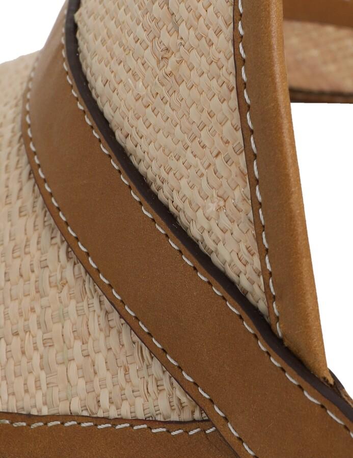 Thumbnail for your product : Zimmermann Raffia Visor