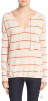 Autumn Cashmere Baja Stripe Cashmere Sweater