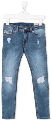 Diesel Skinny Fit Jogg Jeans