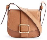 MICHAEL Michael Kors Women's Maxine Mid Saddle Bag Luggage
