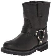 """AdTec Women's 8"""" Harness Boot Black Work Boot"""