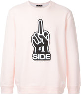 The Upside Novelty crew neck sweatshirt - men - Cotton - M