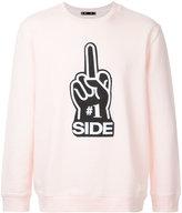 The Upside Novelty crew neck sweatshirt - men - Cotton - XS