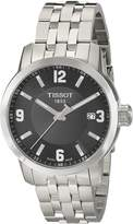 Tissot Men's TIST0554101105700 PRC 200 Analog Display Swiss Quartz Silver Watch