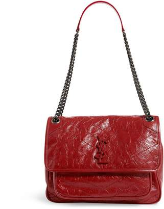 Saint Laurent Medium Leather Niki Shoulder Bag