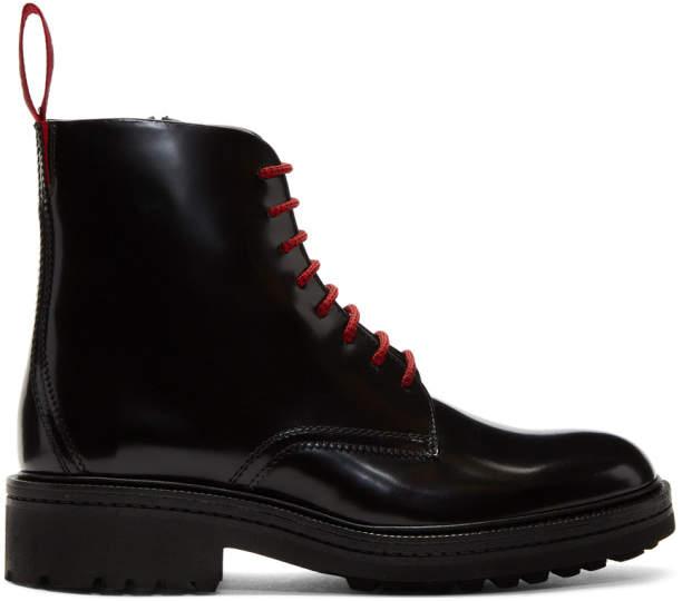 HUGO Black Impact Casual Boots