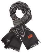 Missoni Long Chevron Wool Scarf
