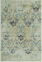 "D Style Menagerie MEN1244 Ivory 4'11"" x 7'5"" Area Rug"