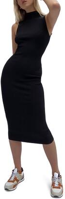 French Connection Jolie Sleeveless Midi Dress