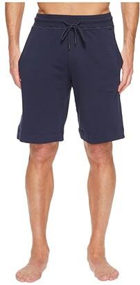 Hanro Living Lounge Shorts (Black Iris) Men's Shorts