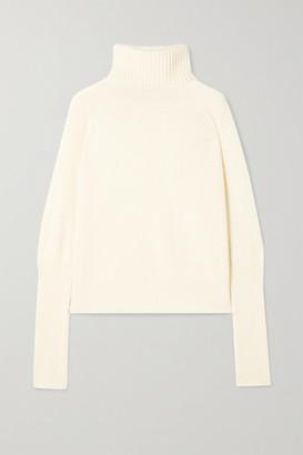 ENVELOPE1976 Vienna Merino Wool And Cashmere-blend Turtleneck Sweater - Cream