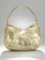 City Style Metallic Gold Hobo Bag