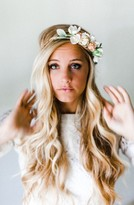 Emily Rose Flower Crowns Neutral Blooms Silk Flower Crown