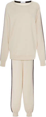 Olivia von Halle Silk And Cashmere Jogging Suit