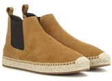 Burberry Bainsford Suede Espadrille Chelsea Boots