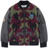 John Galliano Camouflage bomber jacket