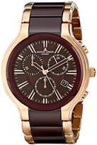 Jacques Lemans Men's 1-1742K Dublin Analog Display Quartz Multi-Color Watch