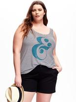 Old Navy Relaxed Plus-Size Printed Tank