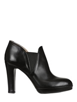 Alberto Fermani 100mm Nappa Leather Low Ankle Boots