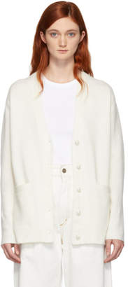3.1 Phillip Lim SSENSE Exclusive White Pearls Cardigan