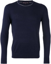 Michael Kors crew neck sweater - men - Silk/Cotton - S