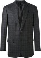 Brioni check blazer