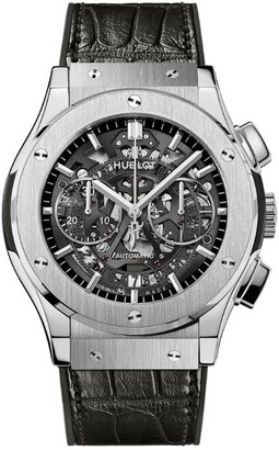 Hublot Titanium Classic Fusion Aerofusion Chronograph Watch 45mm