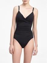 Calvin Klein Twisted V-Neck Swimsuit