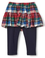 Gap Plaid skirt leggings