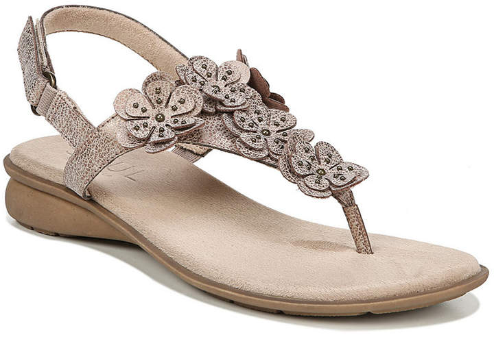 a9e5a8618cab Gold Sandals With Flowers - ShopStyle