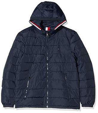 Tommy Hilfiger Men's Quilted Hooded Jacket Bomber,XX-Large (Size:)