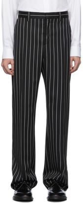 Burberry Black Run Classic Trousers
