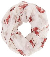Charlotte Russe Elephant Print Infinity Scarf