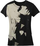 """Lady Gaga """"Close Up"""" 2-Sided Juniors Fitted Tee"""