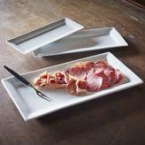 Sur La Table Blanc Rectangular Platters, Set of 3