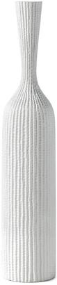 Torre & Tagus Zoro Carved Line Resin Floor 37.25In Vase