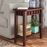 Andover Mills Warrington End Table Color: Espresso Brown