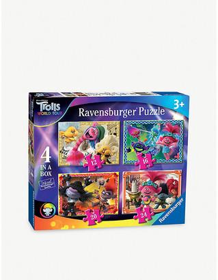 Ravensburger x Trolls 2 4-in-1 jigsaw puzzles