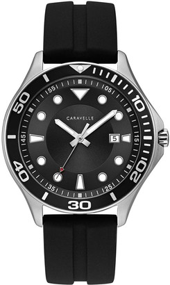 Caravelle by Bulova Men's Silicone Strap Sport Watch