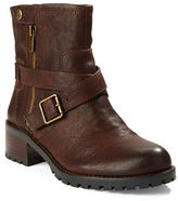 424 Fifth Walcott Leather Ankle Boots
