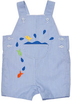 Florence Eiseman Corduroy Fish Overalls, Blue, Size 3-24 Months
